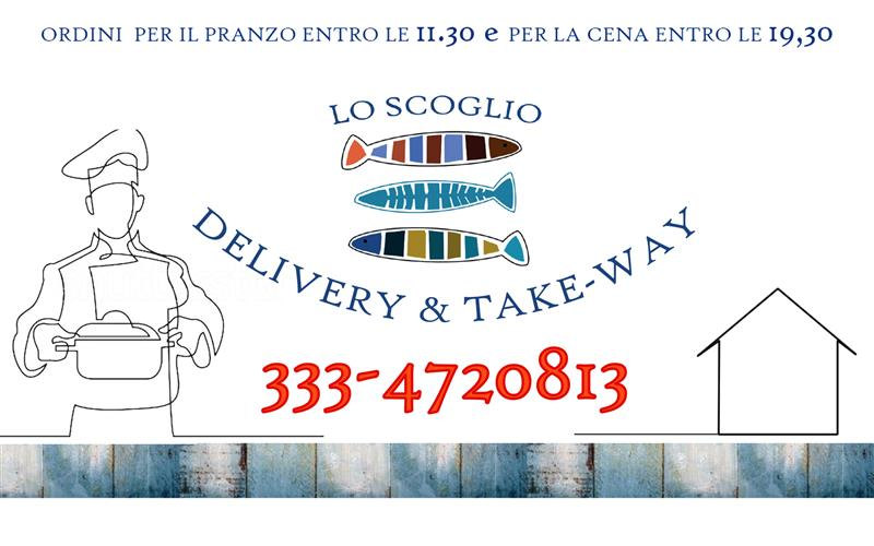 LO SCOGLIO DELIVERY e TAKE AWAY